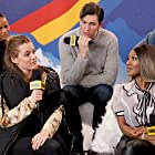 Colman Domingo, Nicholas Braun, A'Ziah King, Riley Keough, and Taylour Paige at an event for The IMDb Studio at Acura Festival Village (2020)