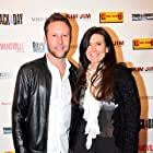 Michael Rosenbaum and Kim Waltrip at the premiere of Back in the Day