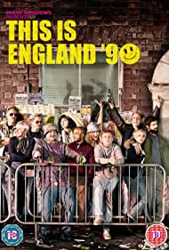 Vicky McClure, Andrew Shim, Thomas Turgoose, and Rosamund Hanson in This Is England '90 (2015)