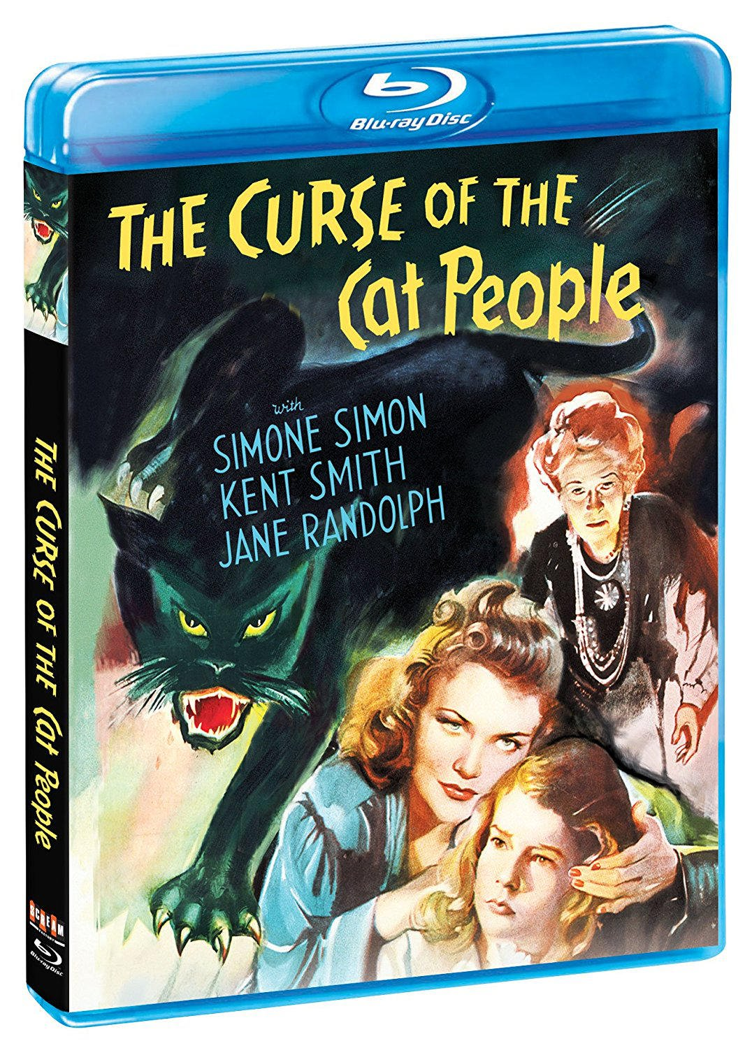 Ann Carter and Simone Simon in The Curse of the Cat People (1944)