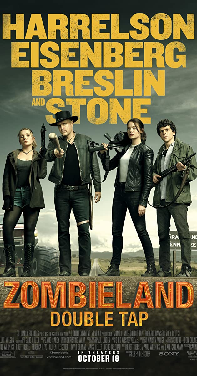 Zombieland Double Tap (2019) [BluRay] [720p] [YTS LT]