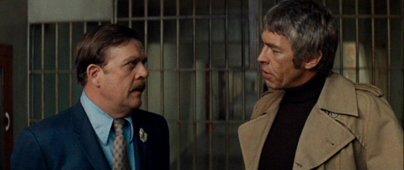 James Coburn and Pat Hingle in The Carey Treatment (1972)
