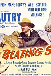 The Blazing Sun Poster