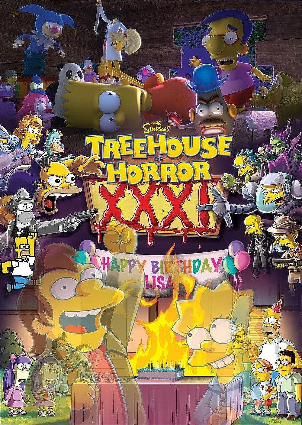 Treehouse of Horror XXXI (2020)