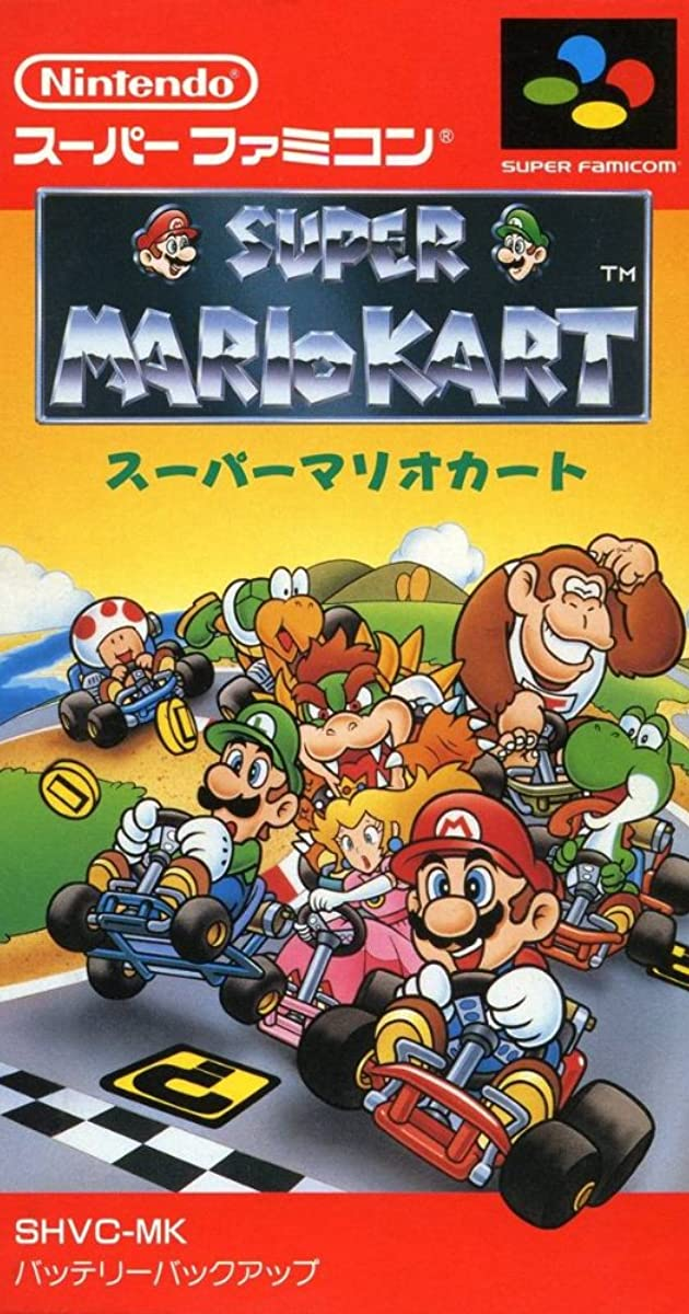 Super Mario Kart (Video Game 1992) - IMDb