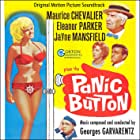 Maurice Chevalier, Mike Connors, Jayne Mansfield, Eleanor Parker, and Akim Tamiroff in Panic Button (1964)