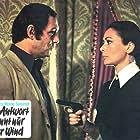 Karin Dor and Maurice Ronet in Die Antwort kennt nur der Wind (1974)