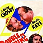 Bing Crosby and Martha Raye in Double or Nothing (1937)