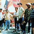 Brandon Quintin Adams, Victor DiMattia, Grant Gelt, Chauncey Leopardi, Shane Obedzinski, Patrick Renna, and Marty York in The Sandlot (1993)