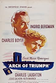 Arch of Triumph (1948) Poster - Movie Forum, Cast, Reviews