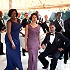 Trevor Edwards, Chiwetel Ejiofor, Angel Coulby, Jay Phelps, Charles Angiama, Wunmi Mosaku, Miles Brett, Oroh Angiama, Steve Williamson, and Chris Storr in Dancing on the Edge (2013)