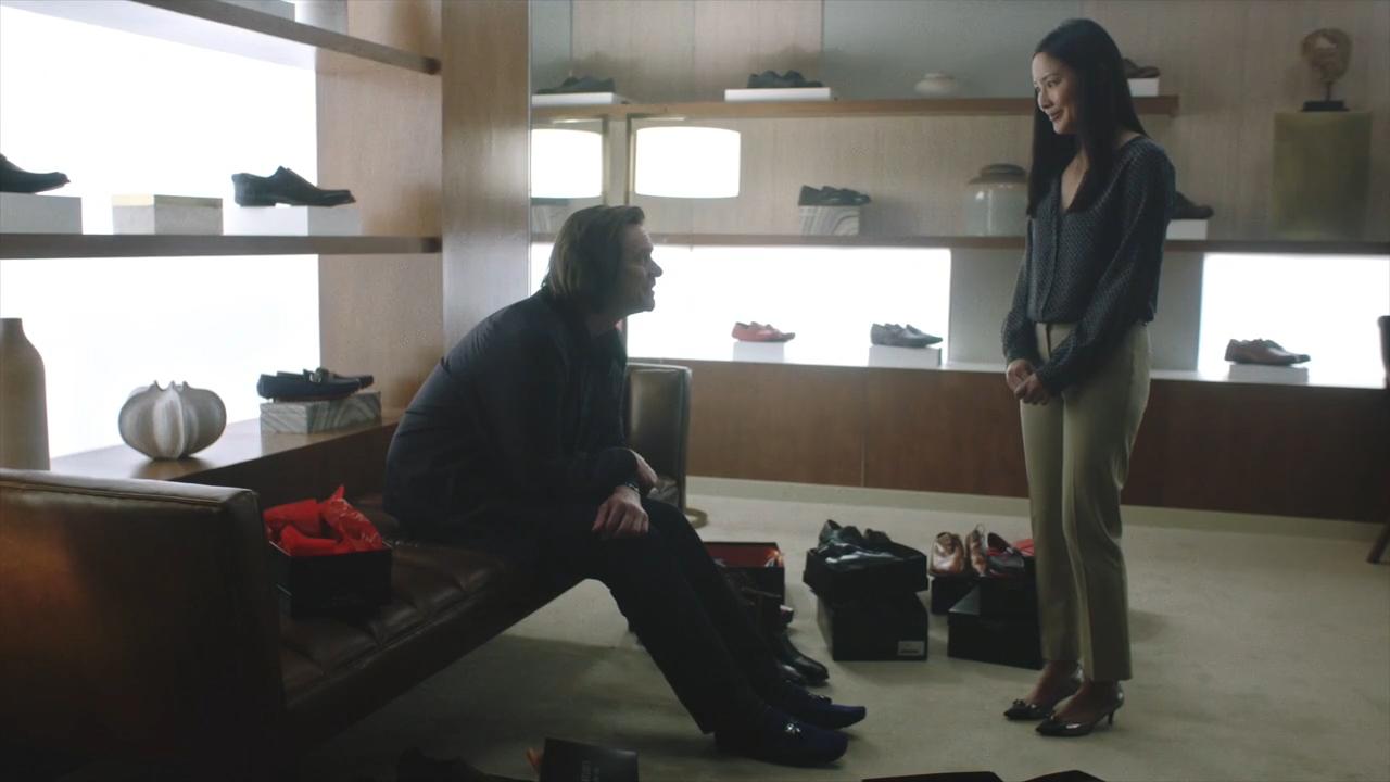 Jim Carrey and Grace Su in Kidding