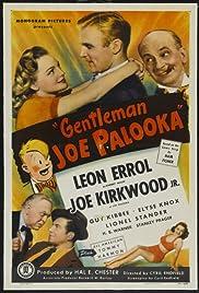 Gentleman Joe Palooka Poster