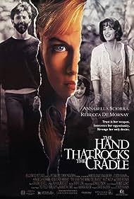 Rebecca De Mornay, Annabella Sciorra, and Matt McCoy in The Hand That Rocks the Cradle (1992)