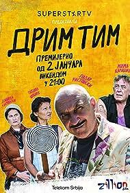 Milutin 'Mima' Karadzic, Danica Ristovski, Lazar Ristovski, and Tatjana Sojic in Drim tim (2021)