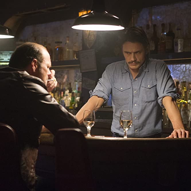 Chris Bauer and James Franco in The Deuce (2017)