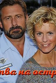 Anne Richard and Bernard Yerlès in Meurtres à l'Île d'Yeu (2015)
