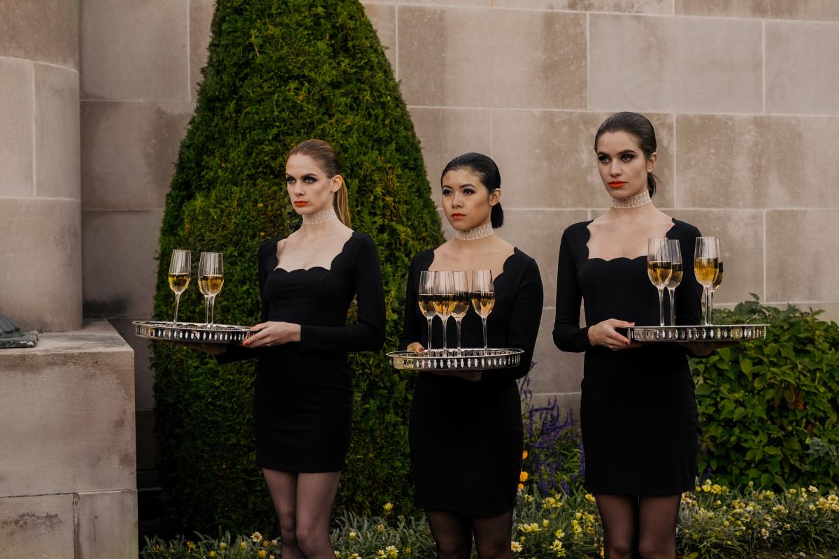 Daniela Barbosa, Celine Tsai, and Hanneke Talbot in Ready or Not (2019)