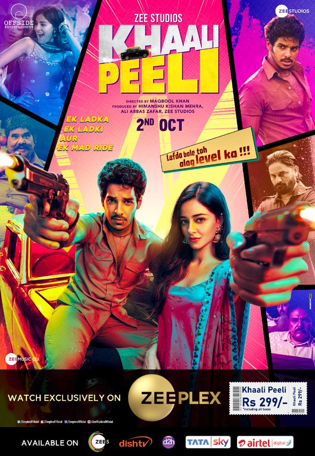 Khaali Peeli 2020 Full Movie Hindi 480p HDRip 350Mb ESubs Download