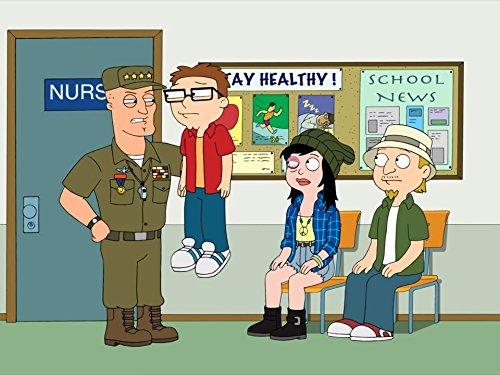 Jeff Fischer, Scott Grimes, and Rachael MacFarlane in American Dad! (2005)