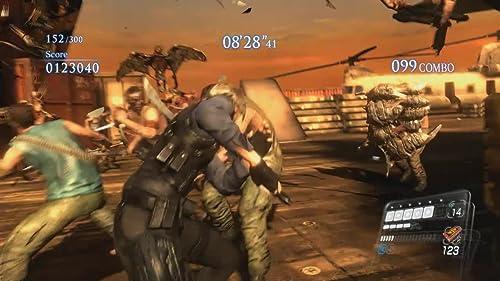 Resident Evil 6: The Mercenaries No Mercy Gameplay