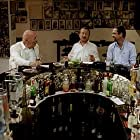 Taner Birsel, Erkan Can, Tuncel Kurtiz, Sevval Sam, and Nejat Isler in Siyah Beyaz (2010)