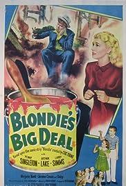 Blondie's Big Deal Poster