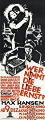 Wer nimmt die Liebe ernst...? (1931) Poster