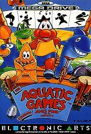 The Aquatic Games Poster