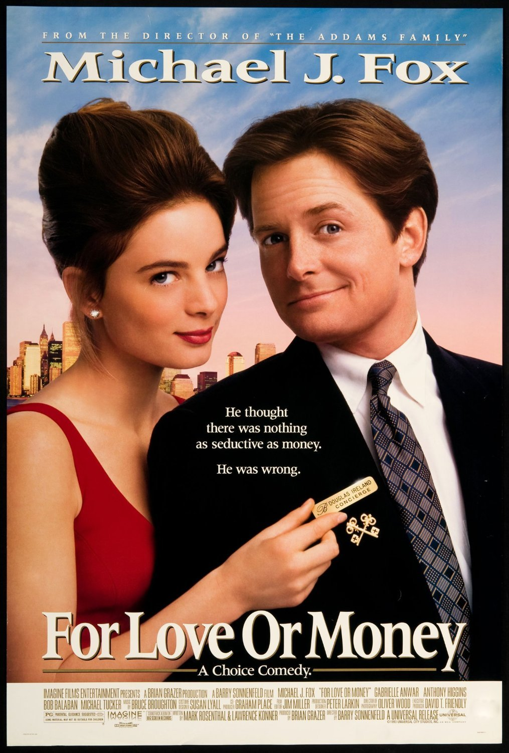 for love or money 1993 vhs
