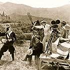 James Wong Howe, Herbert Brenon, and Antonio Moreno in The Spanish Dancer (1923)