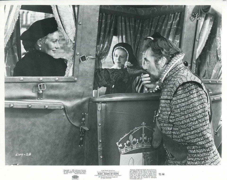 Vanessa Redgrave and Nigel Davenport in Mary, Queen of Scots (1971)