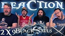 Black Sails 2x9 REAZIONE !!