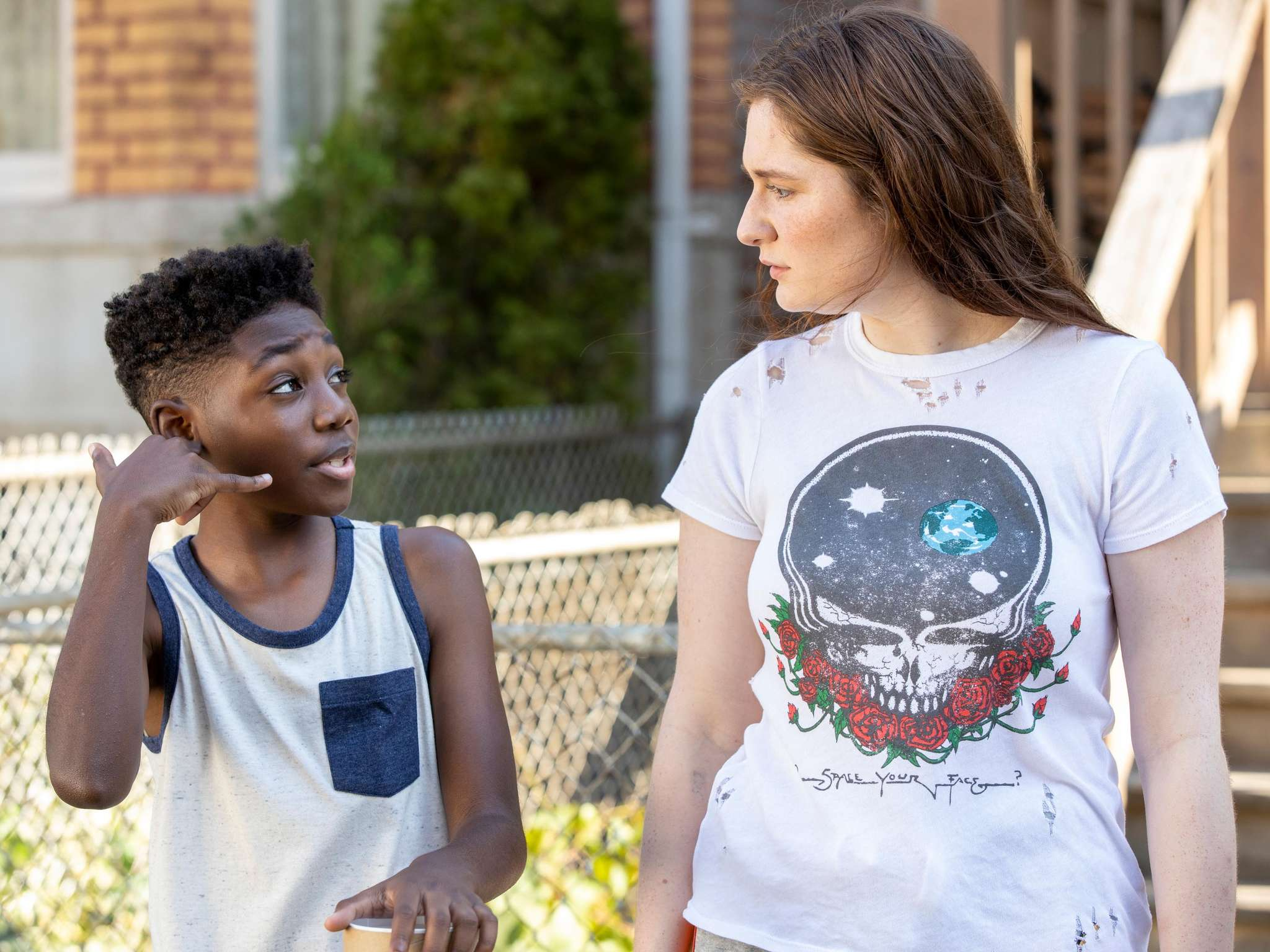Emma Kenney and Christian Isaiah in This is Chicago! (2020)