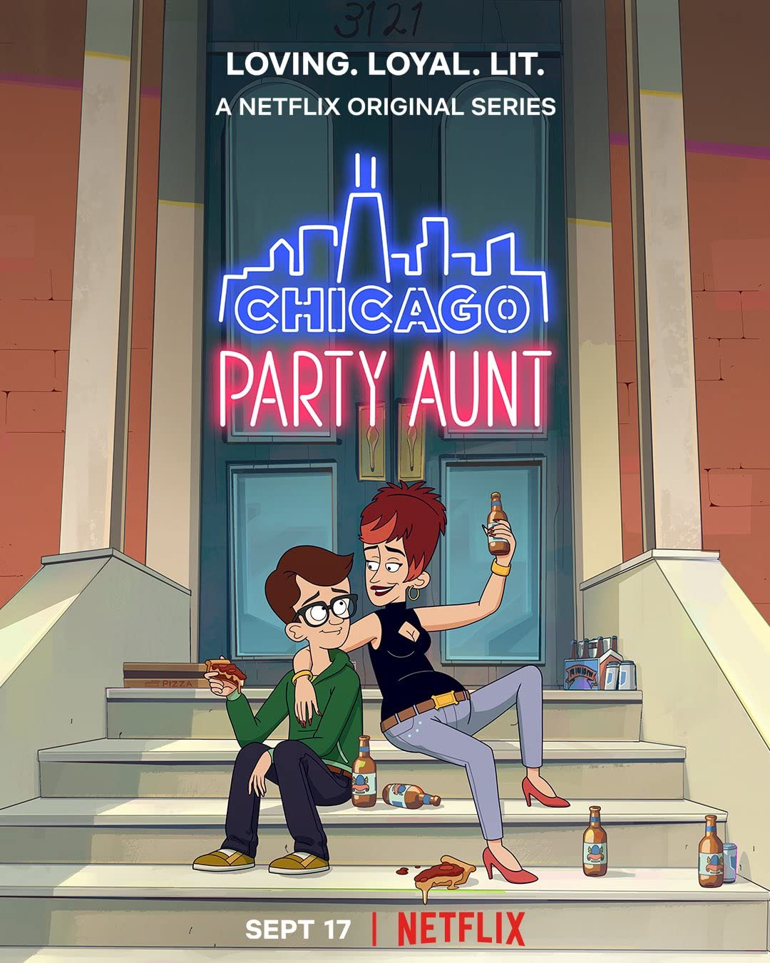 Chicago Party Aunt (2021) Season 1 Hindi Dubbed (Netflix)