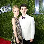 Wallis Currie-Wood and Alex Sharp at The 69th Annual Tony Awards in New York City