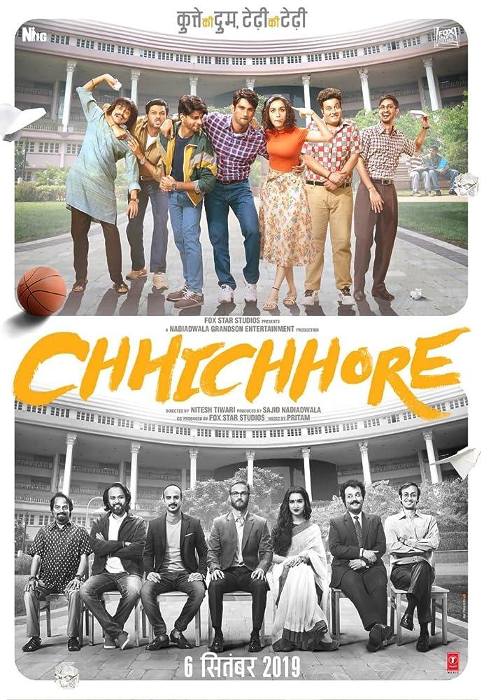 Chhichhore (2019) Hindi WEB-DL – 1080p – AVC – AAC – 1GB – ESub