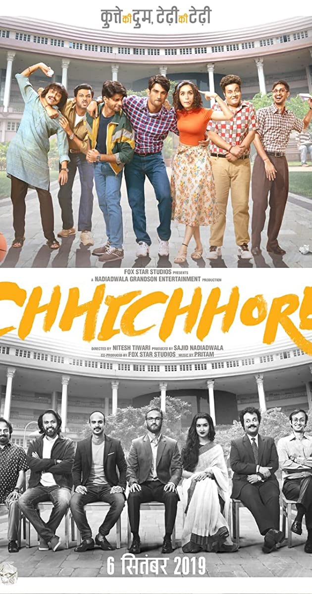 Chhichhore (2019) - Hindi - PDVDRip - x264 - 700MB - TAMILROCKERS