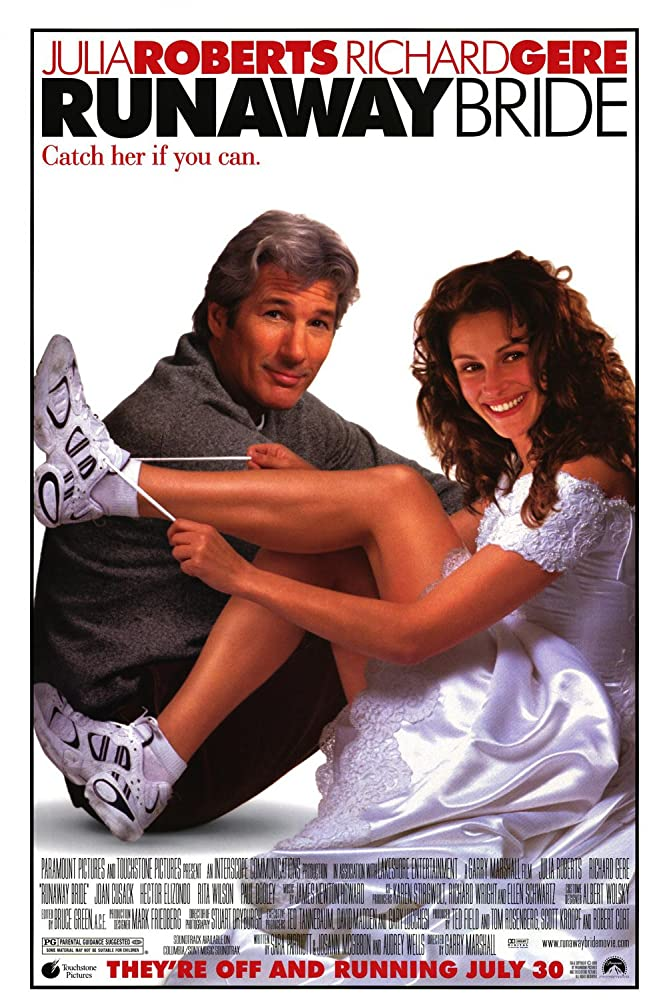 Richard Gere and Julia Roberts in Runaway Bride (1999)