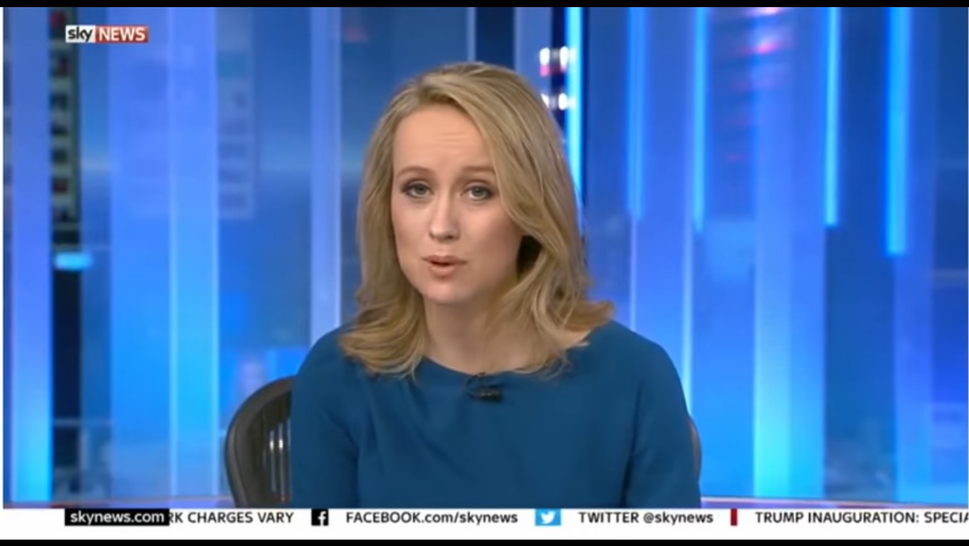 Sophy Ridge in Sky News Tonight (2014)