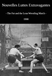 The Fat and the Lean Wrestling Match Poster