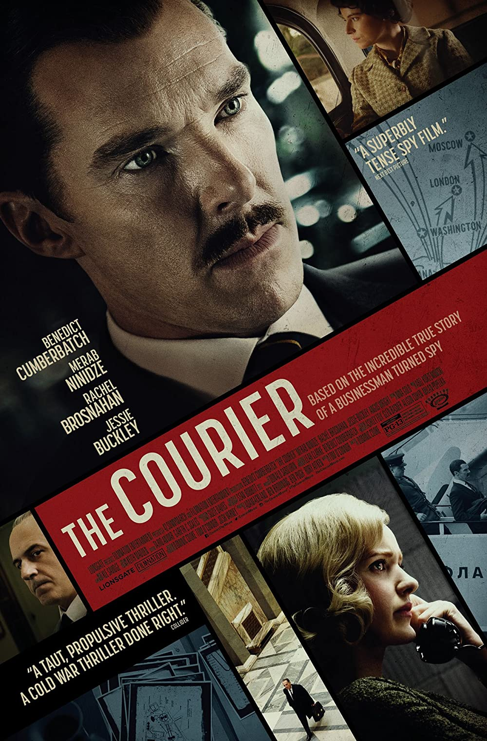 Download The Courier 2021 English 720p HDRip ESubs 800MB