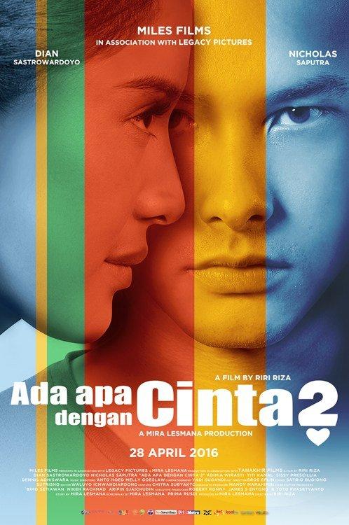 Dian Sastrowardoyo and Nicholas Saputra in Ada Apa dengan Cinta? 2 (2016)