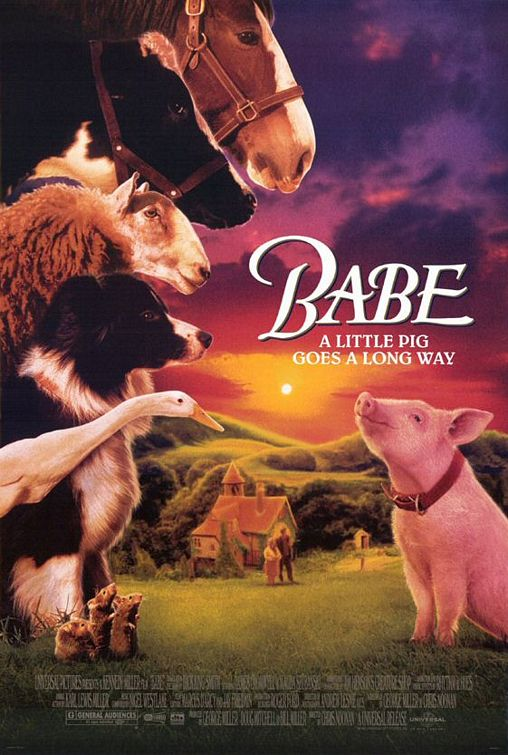 Babe 1995 BluRay Dual Audio [English+Hindi] 340MB