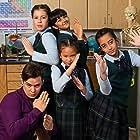 Dia Narain, Lea Hoestlandt, Chance Cintron, Artemis Asaadi, and Sarah Qistina Lim in Go Iguanas! (2018)