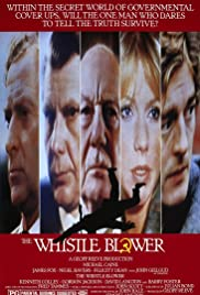 The Whistle Blower (1986) Poster - Movie Forum, Cast, Reviews