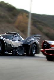Batmobiles Racing Poster