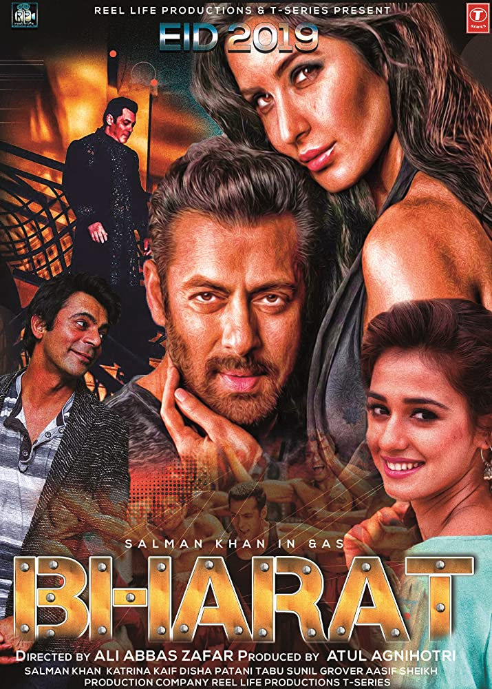 Bharat 2019 Hindi Full Movie 720p DVDScr x264 950MB
