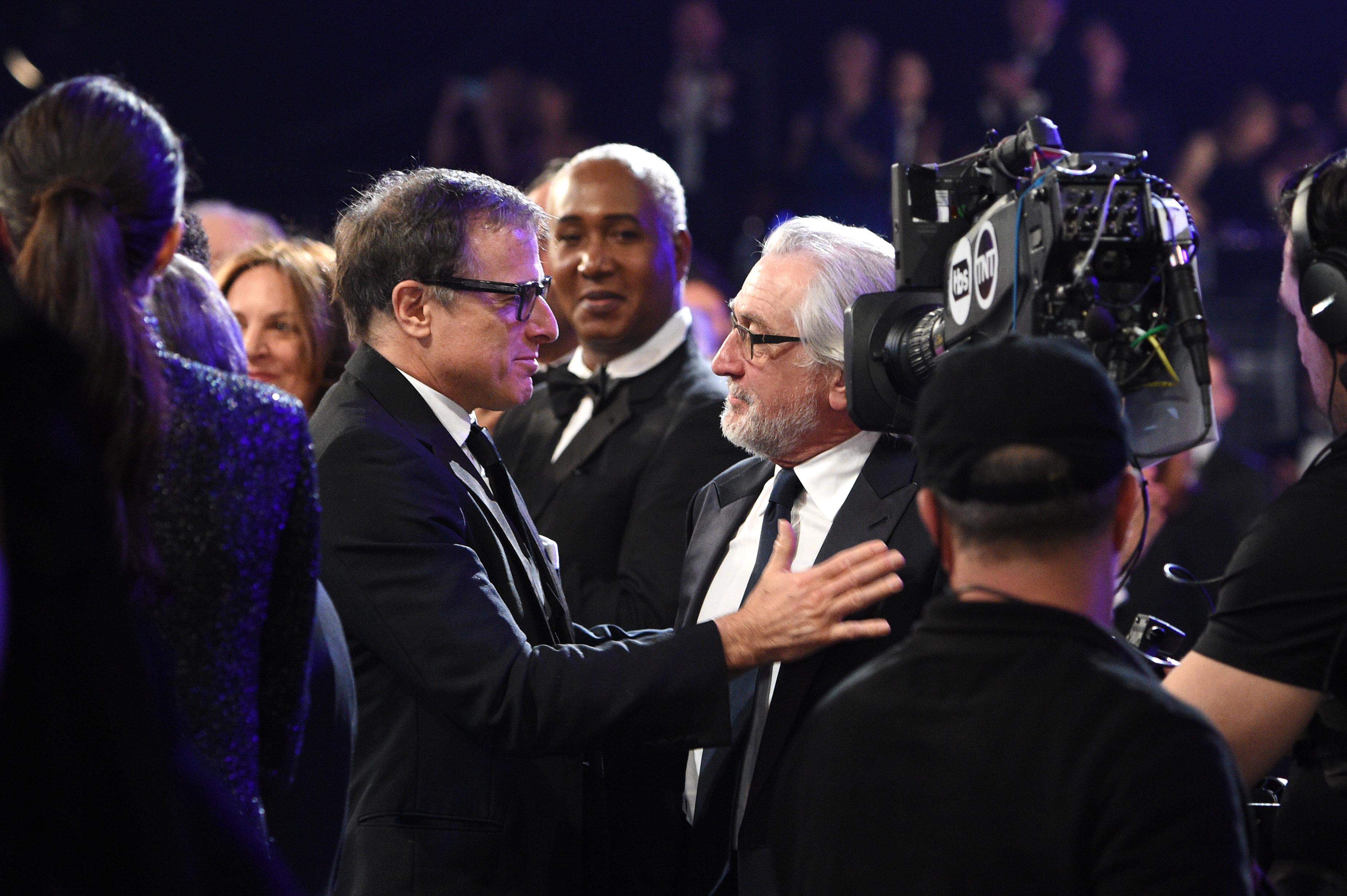 Robert De Niro and David O. Russell