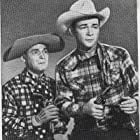 Roy Rogers and Pinky Lee in In Old Amarillo (1951)